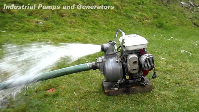 Industrial Pumps and Generators Exporter in India